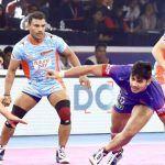 Pro Kabaddi League 2019 Final: Naveen Kumar Heroics in Vain as Bengal Warriors Beat Dabang Delhi K.C. 39-34 to Win Maiden Title
