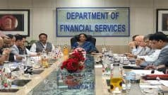 Delhi: Sitharaman Meets PSB Chiefs, Says Banks Will Offer Bill Discounts to MSMEs