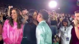 Priyanka Chopra, Nick Jonas' Kiss at Jonas Brothers Concert Goes Viral