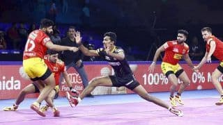 Pro-Kabaddi League: Gujarat Fotunegiants Register Comprehensive 48-38 Win over Telugu Titans