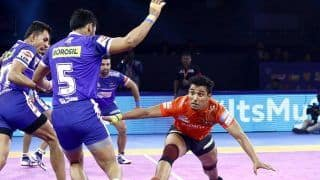 Pro-Kabaddi League: Fazel Atrachali Shines in U Mumbai's 39-33 Win Over Haryana Steelers