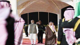 पीएम नरेंद्र मोदी पहुंचे सऊदी अरब, शाह से कई क्षेत्रों में होंगे समझौते