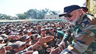 पीएम मोदी के दौरे से खुश और गौरवान्वित महसूस कर रहे हैं सैनिक, कहा- यादगार हो गई दिवाली