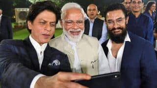 आमिर, शाहरुख सहित पीएम मोदी के घर जुटे कई बॉलीवुड सितारे, देखिए ये शानदार तस्वीरें