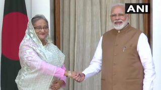 प्रधानमंत्री मोदी से मिलीं बांग्लादेशी पीएम शेख हसीना, दोनों देशों के बीच हुए तीन अहम करार