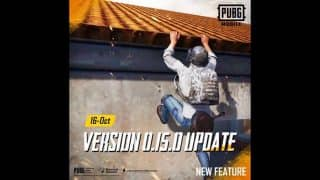 PUBG Mobile update 0.15.0 set to release on October 16