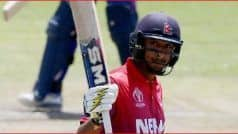 बोर्ड से प्रतिबंध हटने के अगले ही दिन पारस खड़का ने नेपाल टीम की कप्तानी छोड़ी