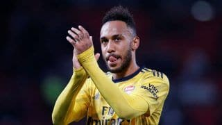 Premier League: Pierre-Emerick Aubameyang equaliser helps Arsenal Hold Manchester United 1-1