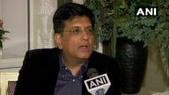 Centre Soon to Offer Industrial Package For Development of Jammu And Kashmir: Piyush Goyal