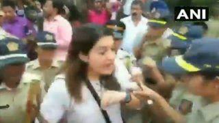 मुंबई: 2600 पेड़ काटने का काम शुरू, धारा 144 लागू, विरोध करने पर शिवसेना नेता प्रियंका चतुर्वेदी हिरासत में