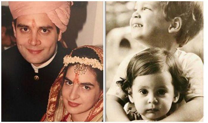 Bhai Dooj 2019: प्रियंका ने भाई दूज पर शेयर की राहुल गांधी के साथ की ये खूबसूरत फोटो, यूं जताया प्यार - On occasion of bhai dooj priyanka gandhi shared childhood photos
