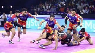 UP Yoddha Wrap up Home Leg With Convincing 45-33 Win Over Bengaluru Bulls