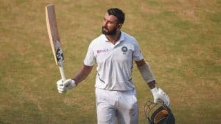 1st Test: Pujara Defends Timing of India's Second Innings Declaration