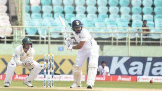 वाइजैग टेस्ट: लंच तक भारत का स्कोर 35/1, 106 रन की बढ़त बनाई