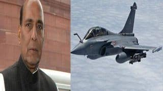 आठ अक्टूबर को पेरिस में राफेल विमान में उड़ान भरेंगे रक्षा मंत्री राजनाथ सिंह
