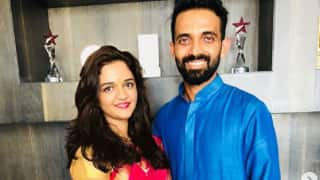 Ajinkya Rahane Tweets First Picture of New-Born Daughter