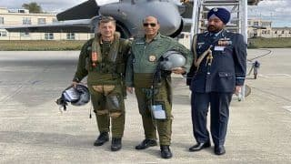 India Receives 1st Rafale Fighter in France; Rajnath Goes For a Sortie, Says 'Historic Day' | Top Developments