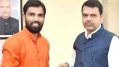Maharashtra Election 2019: चुनावी मैदान में धुरंधरों के बीच भाजपा ने चीनी मिल मजदूर के बेटे को दिया टिकट
