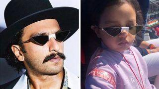 रणवीर सिंह को अपना जैसा चश्मा पहने देख धोनी की बेटी जिवा ने किया कुछ ऐसा