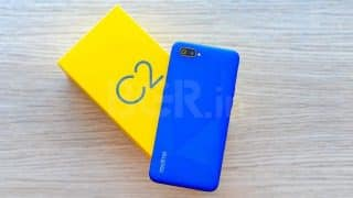 Realme C2 update rolling out with October 2019 Android security patch, dark mode, and more