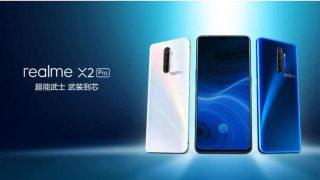 Realme X2 Pro स्मार्टफोन 90Hz डिस्प्ले पैनल और स्नैपड्रैगन 855+ प्रोसेसर के साथ हुआ लॉन्च, जानें कीमत और स्पेसिफिकेशंस