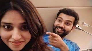 Rohit Sharma's Wife Does an Anushka Sharma, Interrupts Husband's Instagram Live Chat With Yuvraj Singh During COVID-19 Lockdown