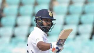 1st Test: Rohit Scores Ton, India Set 395-run Target for South Africa