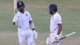 India vs South Africa: Rohit Sharma Abuses Cheteshwar Pujara For Denying a Single During 1st Test | WATCH VIDEO