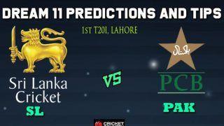 SL vs PAK Dream11 Team Sri Lanka vs Pakistan, 1st T20I, Sri Lanka Tour of Pakistan, 2019 – Cricket Prediction Tips For Today's Match SL vs PAK at Lahore
