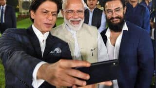 SRK Thanks Modi For 'University of Cinema'; PM Discusses GST, Camcording Bill With Bollywood Stars