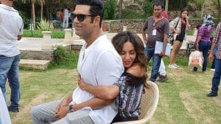 Shibani Dandekar And Samir Kochhar Having a Ball of a Time Together During The Shoot of Four More Shots Please Season 2