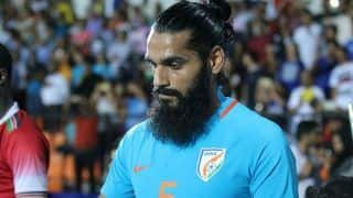 Massive Blow for India, Sandesh Jhingan Ruled Out of Bangladesh World Cup Qualifier