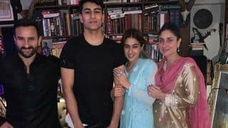Sara Ali Khan Celebrates Her Diwali With Saif, Kareena And Brothers Ibrahim,Taimur, Pictures Go Viral