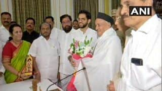 Maharashtra: 'Discussed Farmers' Issue With Him,' Says Shiv Sena After Meeting Governor BS Koshyari