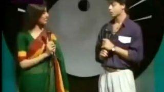 Shah Rukh Khan Anchors Doordarshan Show in THIS Throwback Video - Watch