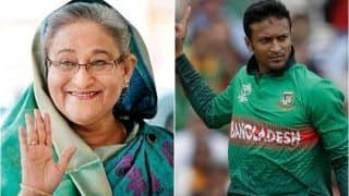 Bangladesh PM Sheikh Hasina Comes Out in Support of Shakib Al Hasan, Says All-Rounder Has Realised His Mistake