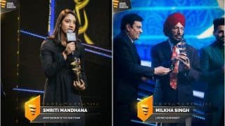 Milkha Singh, Smriti Mandhana Sweep Top Awards at Indian Sports Honours; Here's Complete List of Winners