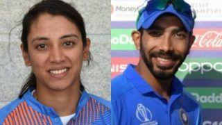 स्मृति मंधाना यह पुरस्कार जीतने वाली तीसरी भारतीय महिला क्रिकेटर बनीं, पुरुषों में बुमराह ने मारी बाजी