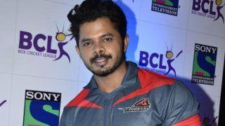 VIDEO: वापसी की तैयारी में जुटे तेज गेंदबाज श्रीसंत ने सचिन को किया बोल्ड