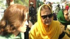 कश्मीर में धारा 370 में बदलाव के खिलाफ प्रदर्शन कर रहीं फारुक अब्दुल्ला की बहन, बेटी हिरासत में