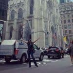 Sushmita Sen Looks Stunning With Her Arms Wide Open And Contagious Smile as She Vacays in New York