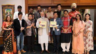 'तारक मेहता का उल्टा चश्मा' की टीम से मिले पीएम मोदी, इस खास मिशन को प्रमोट करेगी टीम