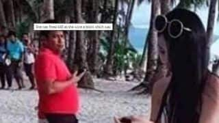 Taiwanese Tourist Gets Slapped With Fine For Wearing String Bikini at a Philippines Beach