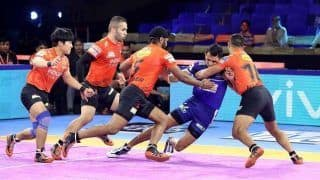 Dream11 Team DEL vs MUM Pro Kabaddi League 2019 – Kabaddi Prediction Tips For Today's PKL Match 131 Dabang Delhi K.C. vs U Mumba at Shaheed Vijay Singh Pathik Sports Complex in Greater Noida