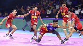UP Yoddha Beat Puneri Paltan 43-39 in PKL