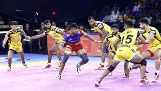 Pro-Kabaddi League: UP Yoddha Lose First Home Match of the Season After 36-41 Loss to Telugu Titans