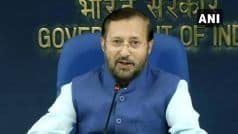 Arvind Sawant's Resignation Accepted, Javadekar Gets Additional Charge of Heavy Industries