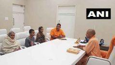 कमलेश तिवारी हत्याकांड: सीएम योगी आदित्यनाथ से मिली पत्नी किरन तिवारी, रखी ये मांगेें