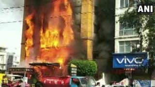 मध्य प्रदेश: इंदौर के 5 स्टार होटल में भीषण आग, कई लोग फंसे