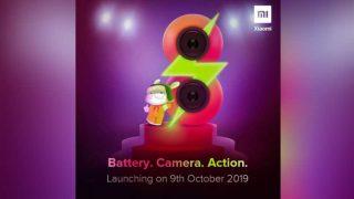 Xiaomi Redmi 8 भारत में 4 बैक कैमरों के साथ 9 अक्टूबर को होगा लॉन्च